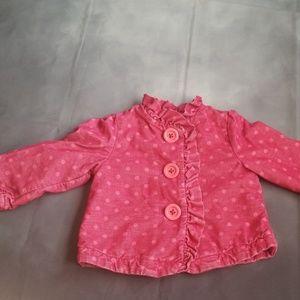 Pink jacket 18m